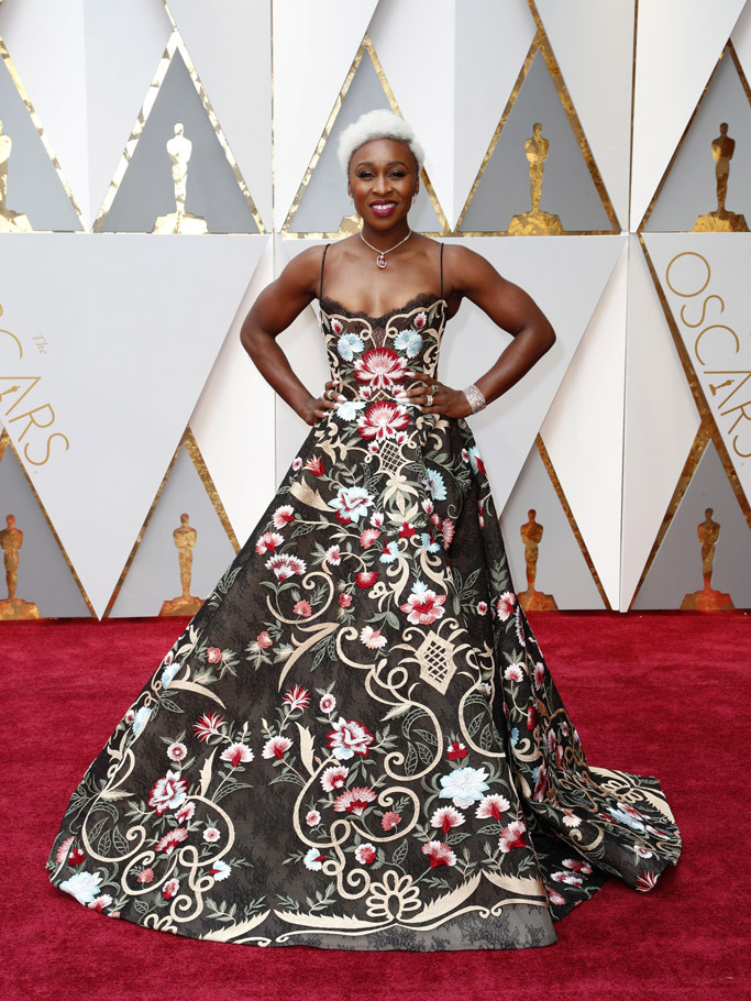 cynthia-erivo-shoes-oscars-red-carpet-2017
